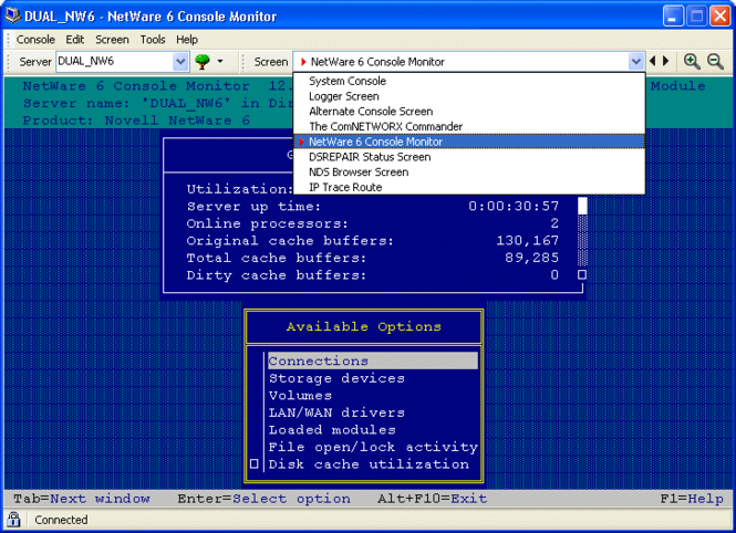 AdRem sfConsole Screenshot