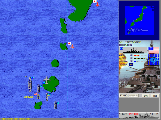 Battlefleet:  Pacific War Screenshot 7