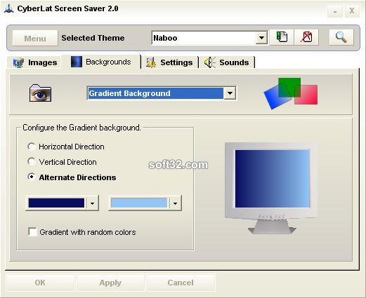 CyberLat Screen Saver Screenshot 3