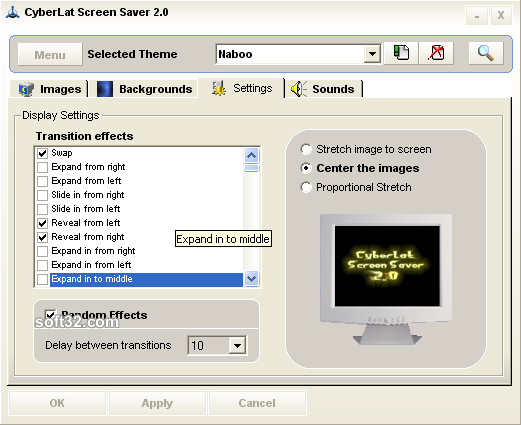 CyberLat Screen Saver Screenshot 4
