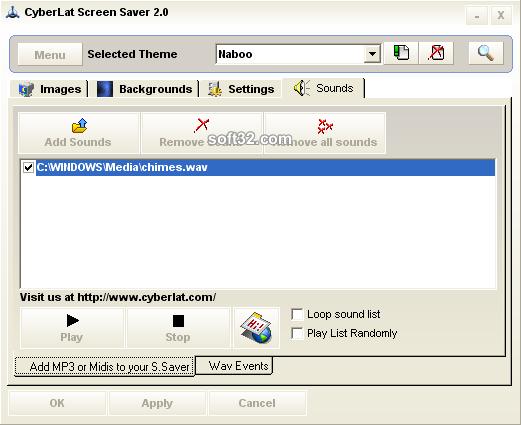 CyberLat Screen Saver Screenshot 5