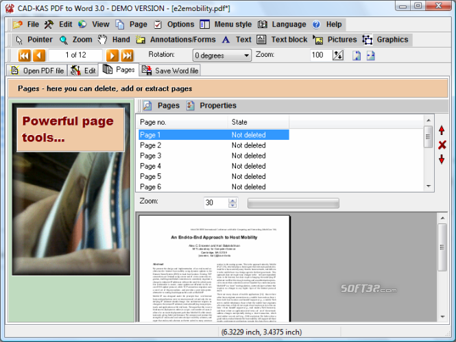 PDF to Word Screenshot 5