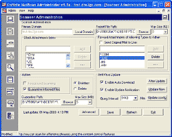 VisNetic MailScan for SMTP Screenshot 1