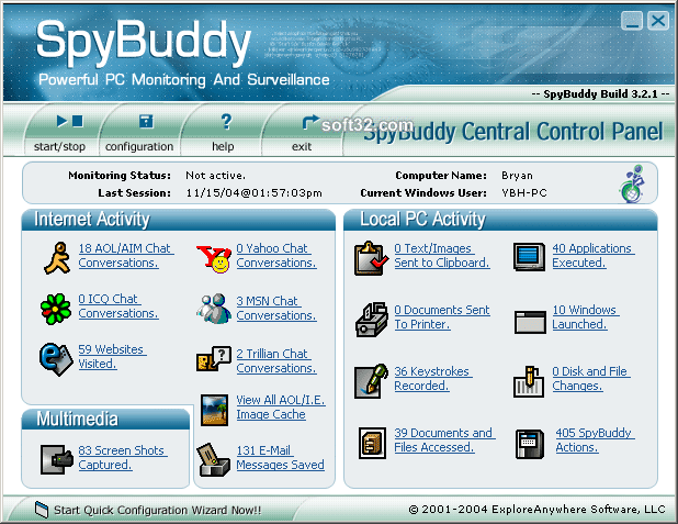 SpyBuddy Screenshot