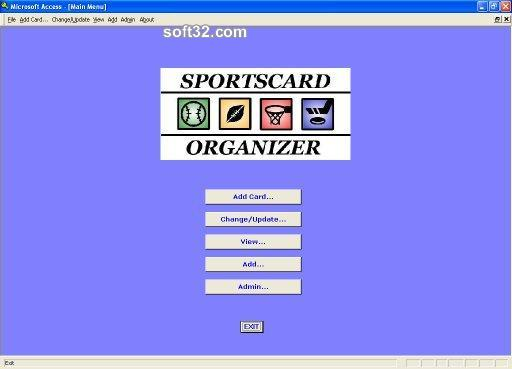 Sportscard Organizer Screenshot 2
