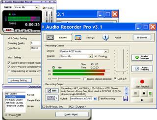 Audio Recorder Pro Screenshot