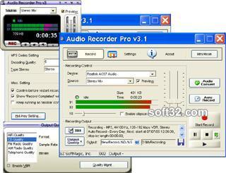 Audio Recorder Pro Screenshot 2
