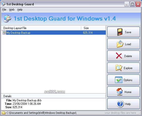 1st Desktop Guard Screenshot 3