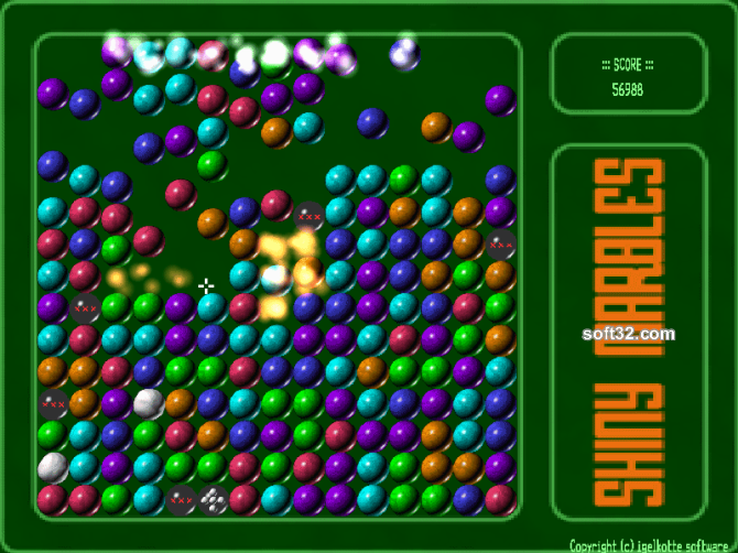 Shiny marbles Screenshot