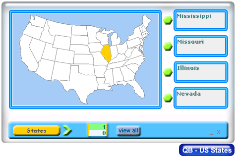 QB - US States Screenshot