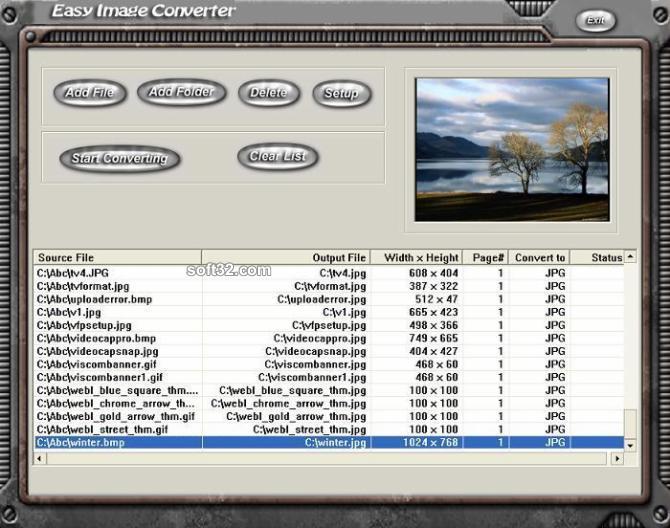 Easy Image Converter Screenshot 3