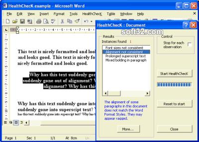 HealthChecK Screenshot 2