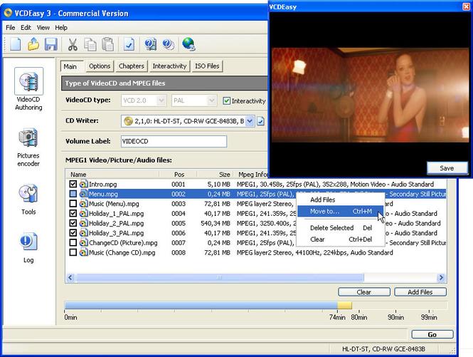 VCDEasy Screenshot 1