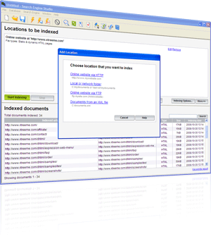 Xtreeme Search Engine Studio Screenshot