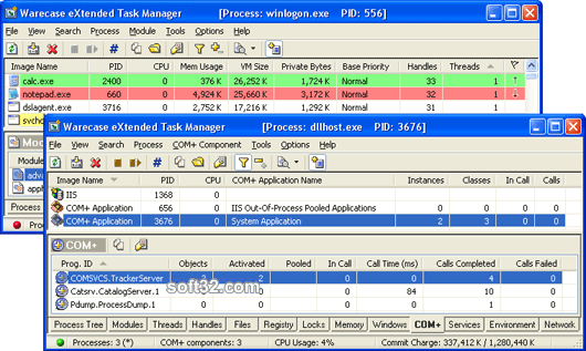 eXtended Task Manager Screenshot 2