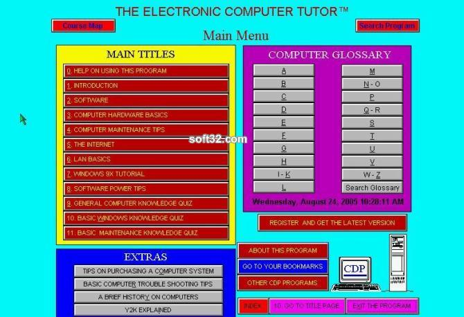 Electronic Computer Tutor Screenshot 3