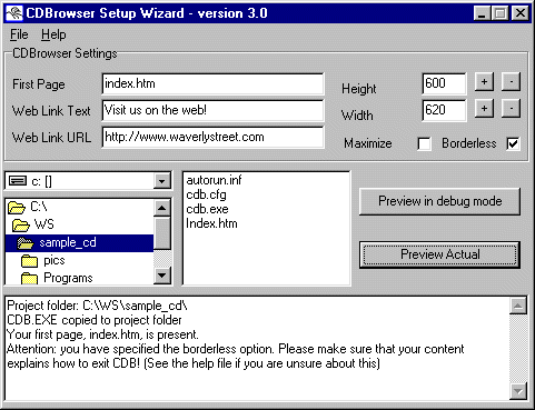 CDBrowser Screenshot 1