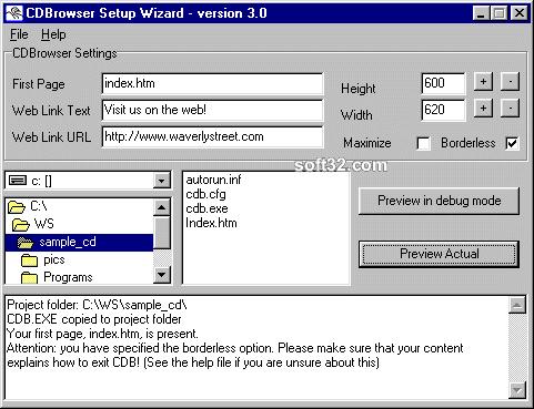 CDBrowser Screenshot 3