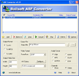 ASF Converter Screenshot 2