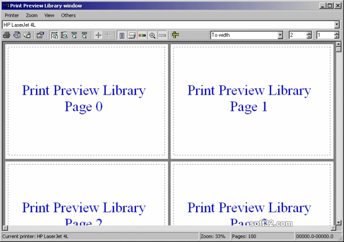 PVL - Print Preview Library Screenshot 2