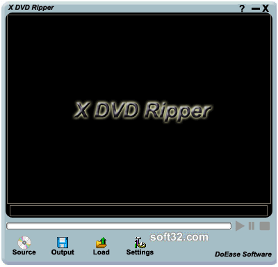 X DVD Ripper Screenshot