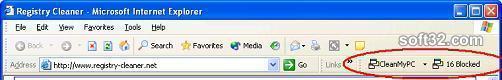 CleanMyPC Free PopUp Blocker Screenshot 2