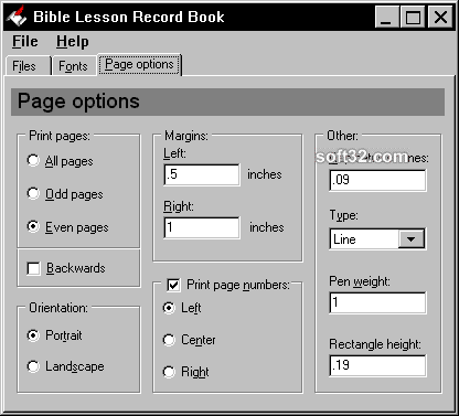 Bible Lesson Record Book Screenshot 3