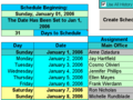 Create Floor Schedules for Your Agents 1