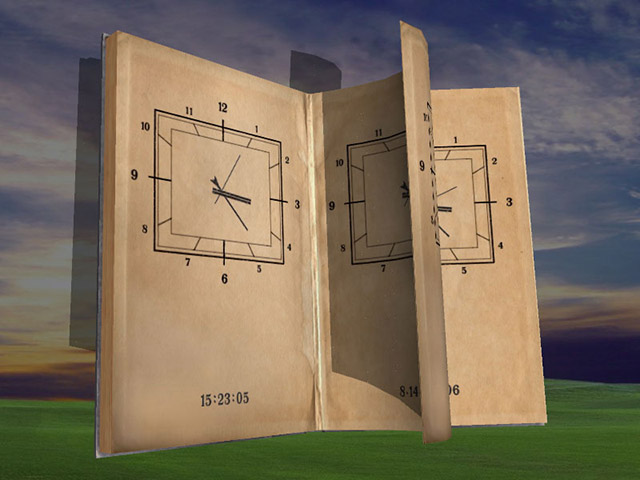 Magic Book 3D Screensaver Screenshot