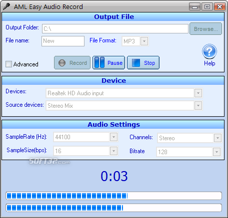 Easy Audio Recorder Screenshot 2