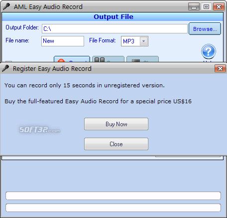 Easy Audio Recorder Screenshot 3