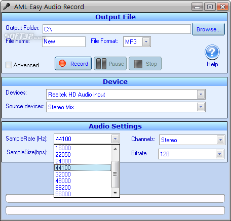 Easy Audio Recorder Screenshot 4