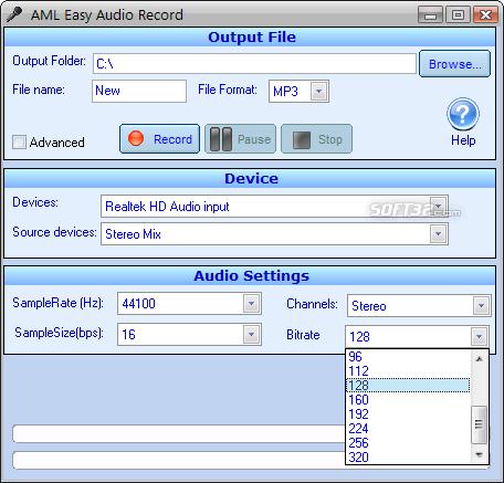 Easy Audio Recorder Screenshot 5