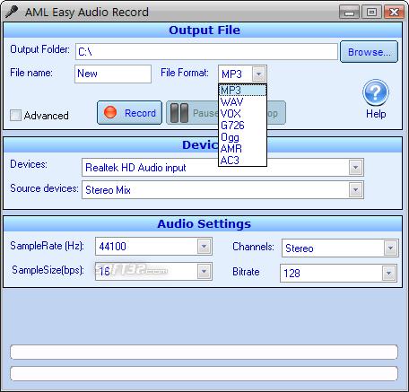 Easy Audio Recorder Screenshot 6