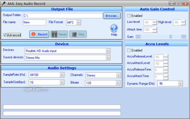 Easy Audio Recorder Screenshot 7