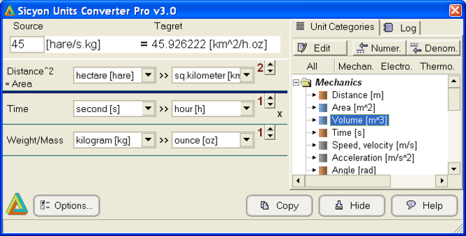 Sicyon Units Converter Pro Screenshot