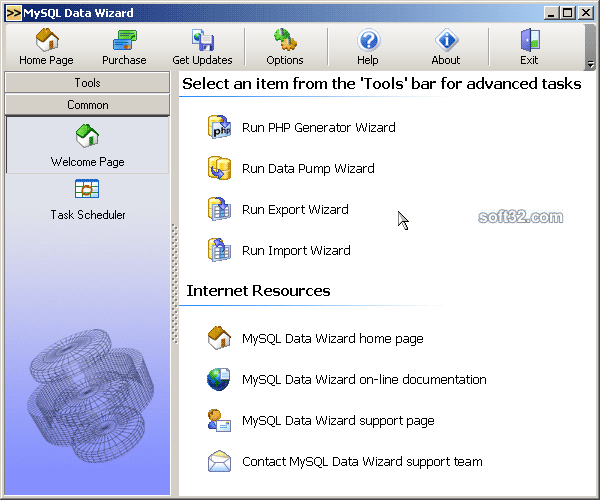 Data Wizard for MySQL Screenshot 2
