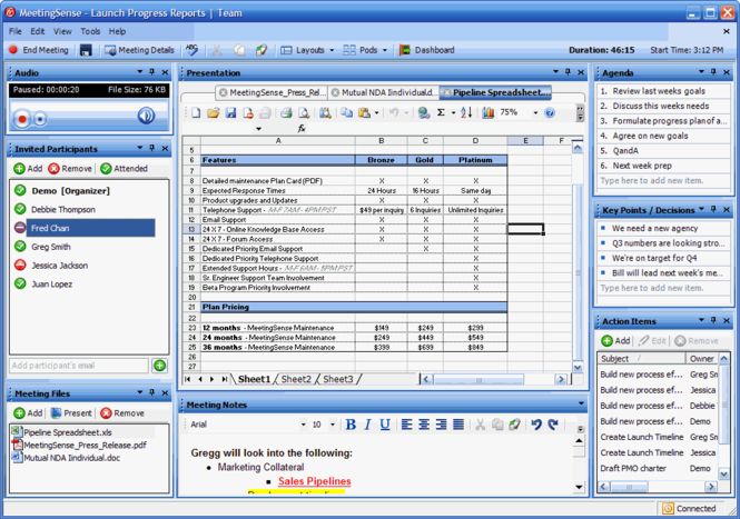 MeetingSense Screenshot