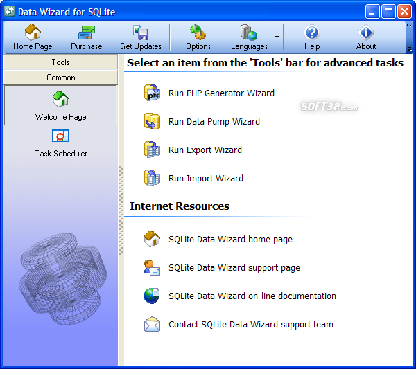 SQLite Data Wizard Screenshot 2