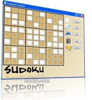 Emjysoft Sudoku Screenshot 1