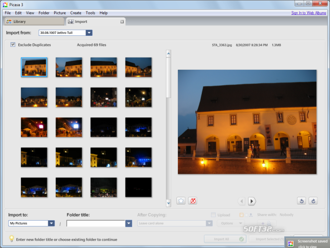 Picasa Screenshot 5