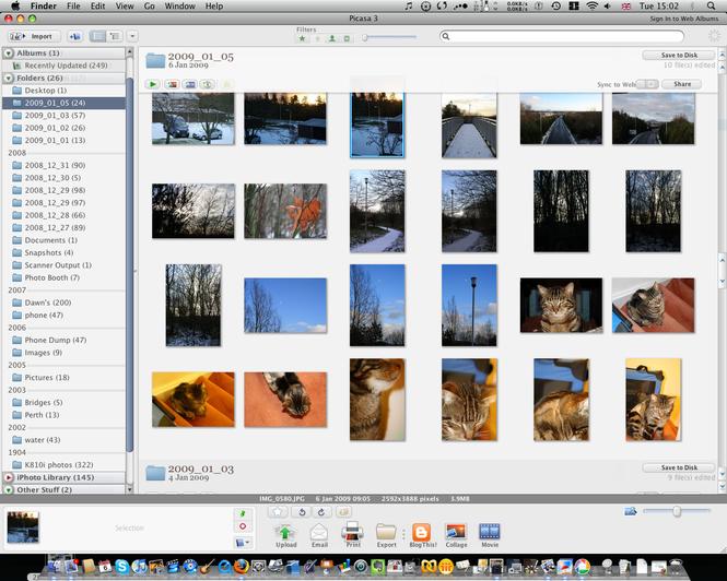 Picasa Screenshot 6