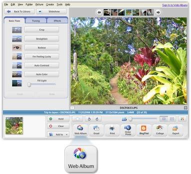 Picasa Screenshot 7