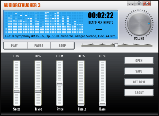 AudioRetoucher Screenshot