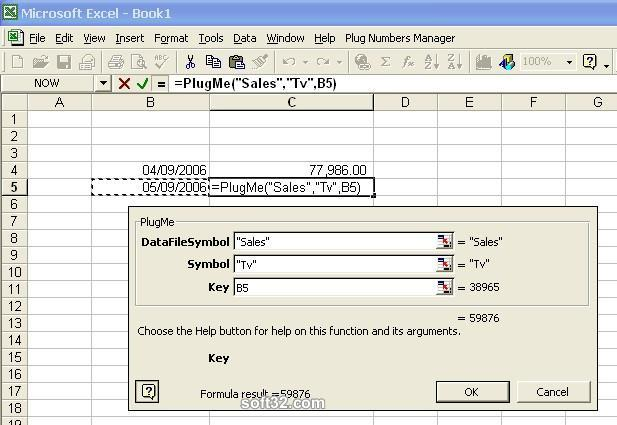 My Excel Plug Numbers Screenshot 1