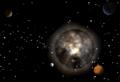 Dark Solar System 1
