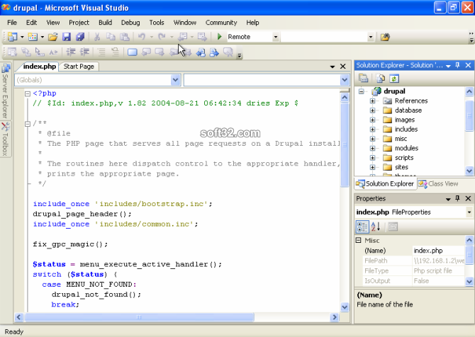 VS.Php Standalone Edition Screenshot 3