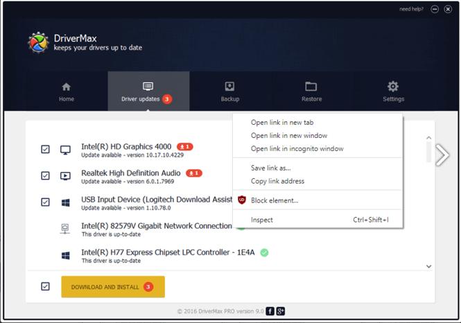 DriverMax Screenshot 2