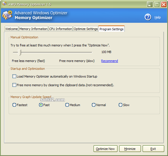 Advanced Windows Optimizer Screenshot 3