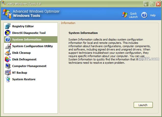 Advanced Windows Optimizer Screenshot 5